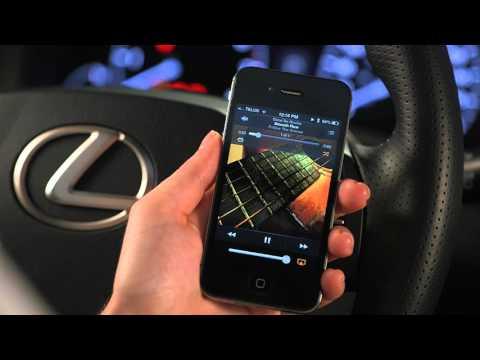 How to Play Music through Lexus Bluetooth