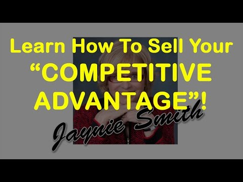 Competitive Advantage - Smart Advantage - Use Marketing Strategies & Market Research - Jaynie Smith