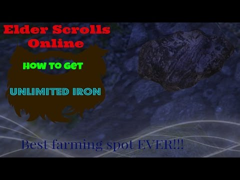 ESO Best Iron farming spot ever! UNLIMITED IRON!!!