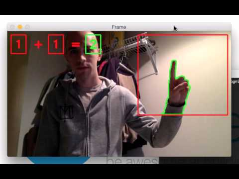 Recognizing hand gestures with OpenCV