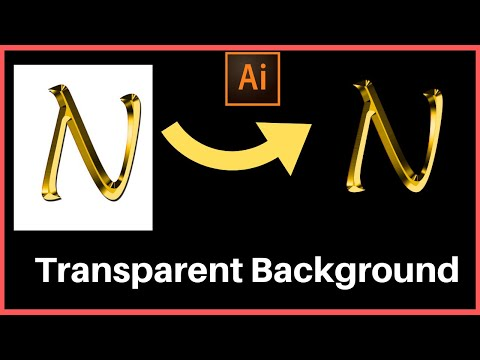 Save image with transparent background in illustrator