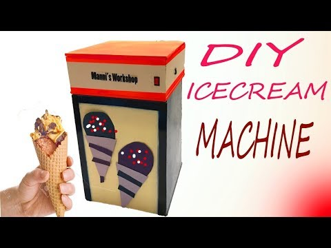 How To Make an ICE CREAM Machine At Home Easily