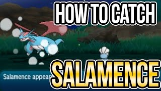How to Catch Salamence & Other RARE Pokemon using SOS battles in Sun   Moon!