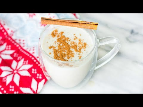 HEALTHY HOLIDAY DRINKS! QUICK & HOMEMADE VEGAN RECIPES! PEPPERMINT, EGG NOG!