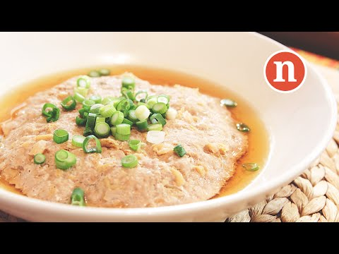 Steamed Minced Pork with Tianjin Preserved Vegetables [Nyonya Cooking]