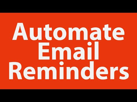 Using Dates with Excel VBA to Automate Email Reminders