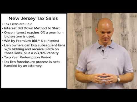 New Jersey Tax Sales - Tax Liens