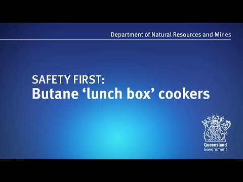Safety first: Butane 'lunch box' cookers