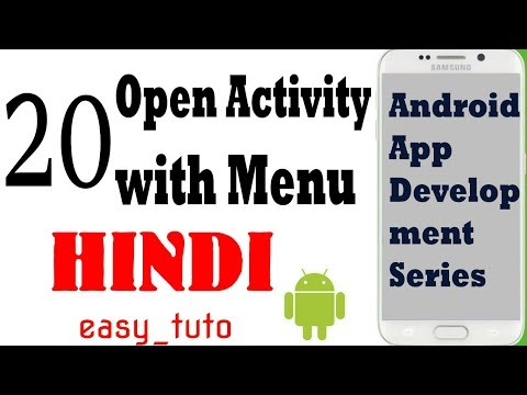 20 Open Activity with List Item CLick | Android App Development Series | HINDI | HD