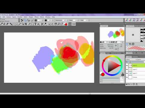 How to Make a Photoshop style brush in Painter 12