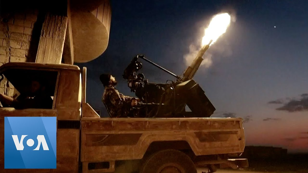 Syrian Rebels Fire at Regime Forces in Idlib Province