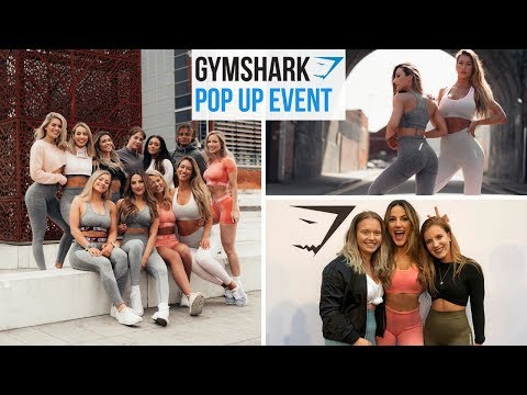 GYMSHARK POP UP | The best weekend ever !