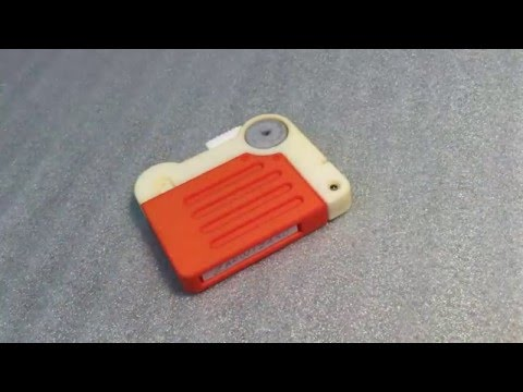 Fallout 4 Holotape, 3D printed, Electronic Prop