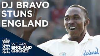 DJ Bravo Stuns England | England v West Indies - Old Trafford 2004