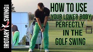 Perfecting Lower Body Stability In The Golf Swing