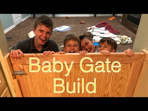 Build Your Own Baby Gate//Soon to be 3 Babies under 3 Years...Again