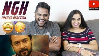 NGK Trailer Reaction | Malaysian Indian Couple | Suriya | Sai Pallavi | Yuvan Shankar Raja