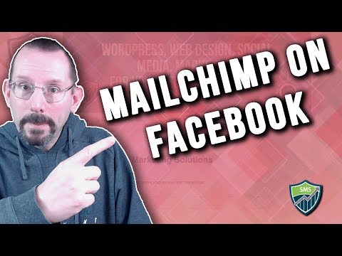 How to Add MailChimp Signup Form to Facebook Page