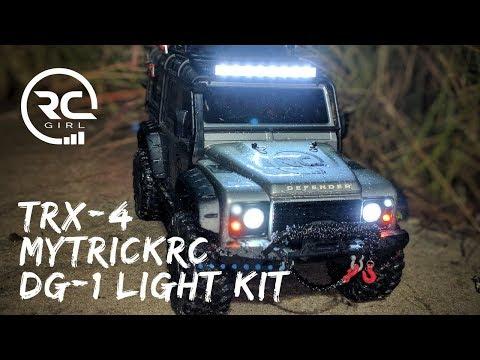 BEST TRAXXAS TRX-4 LIGHT KIT!    MyTrickRC DG1