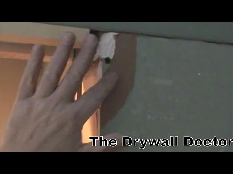 How to Fix a Rip in the Face Paper of Drywall