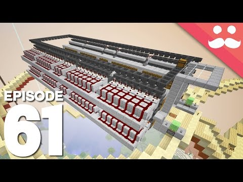 Hermitcraft 4: Episode 61 - HUGE SORTING SYSTEM!