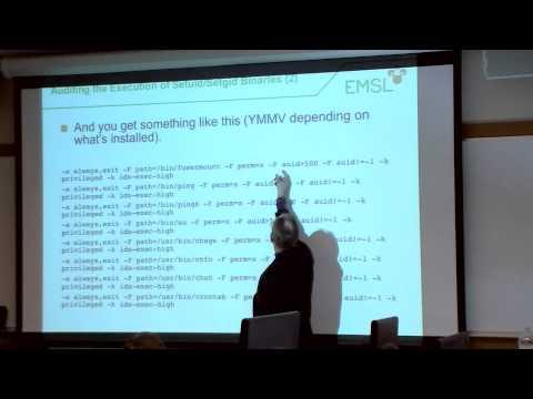The Linux Audit Framework