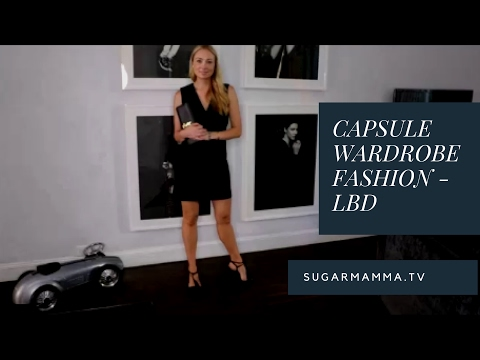 Capsule Wardrobe - Maximum Minimalism For A LBD! Styled 10 Ways!