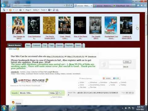Tutorial - How to watch free movies that arent out yet (Theater Movies Online)