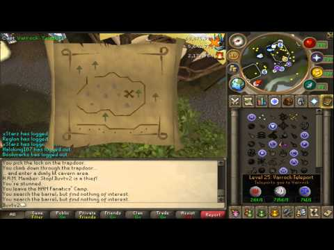Live CLUE SCROLL #4 Too Easy of an Easy! w/commentary