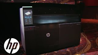 Introducing Hp Metal Jet Technology At Imts 2018 | 3d Printing | Hp