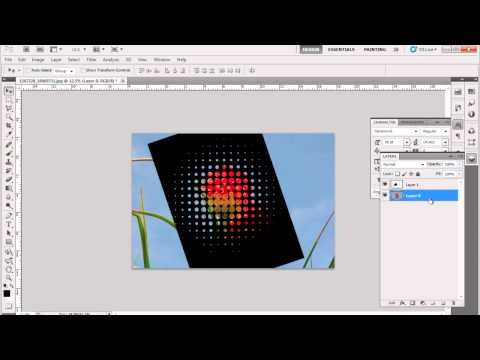 How to Design a Poster Using Halftone Effect in Adobe Photoshop