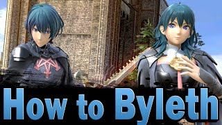 Smash Ultimate: How to play Byleth