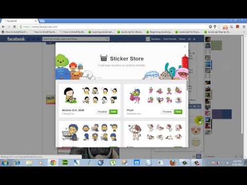 Sticker Store - Find New Facebook Stickers To Send To Friends