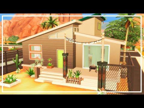 SIMS 4 TINY HOUSE + CC List | Speed Build