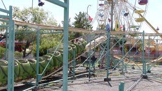 Jolly Roger Amusement Park August 2016 Ocean City, Maryland Footage