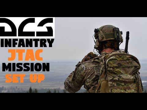 DCS Mission Editor | Setting up an Infantry JTAC Mission [Tutorial]