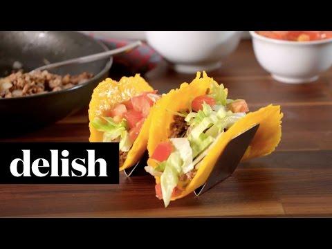 Cheese Taco Shells | Delish