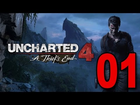 Uncharted 4: A Thief's End - Walkthrough/Gameplay Part 1-1080p