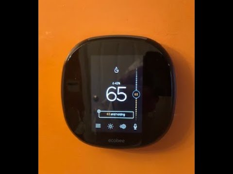 Wiring an ecobee4 Smart Thermostat