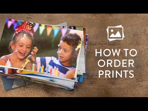 How to order prints - Snapfish UK