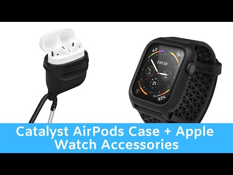 New Catalyst Apple Watch, iPhone and AirPods Accessories Hands On
