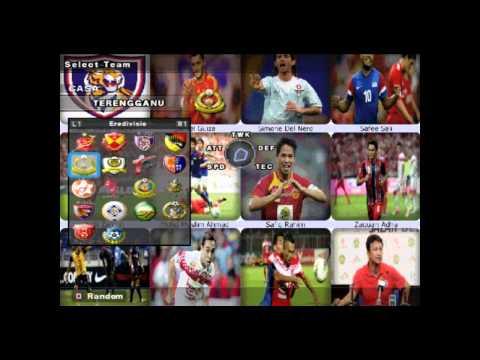PES 2013 PS2 MALAYSIA SUPER LEAGUE PATCH 2013
