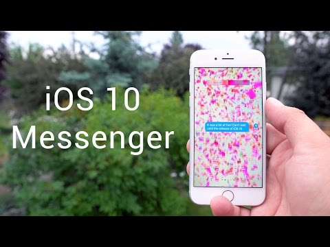 iOS 10 Messages - Apple's biggest update ever!