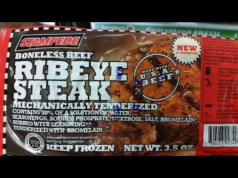 Dollar Tree Ribeye Steak Review & Challenge ~ Dollar Tree Ribeye vs. Grocery Store Ribeye