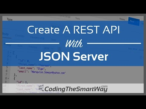 Create A REST API With JSON Server
