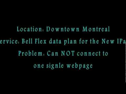 Why you should NOT choose Bell Flex data plan for the New IPad ?