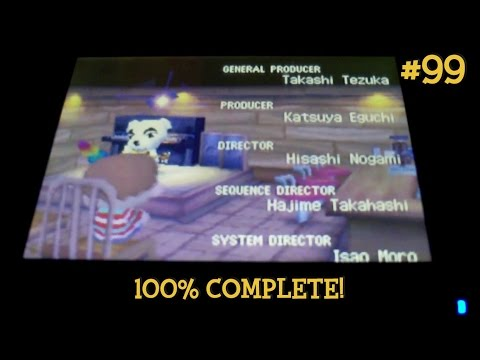Animal Crossing: Wild World 100% - #99: 100% COMPLETION!!!