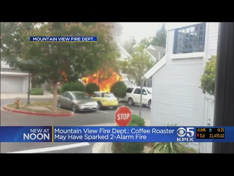 Fire Collapses Roof Of Mountain View Condo