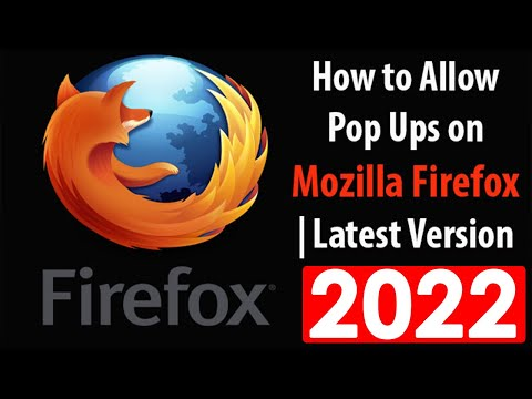 How to Allow Pop Ups on Mozilla Firefox | Latest Version 2016.