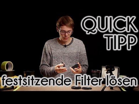 Quicktipp - Festsitzende Filter lösen